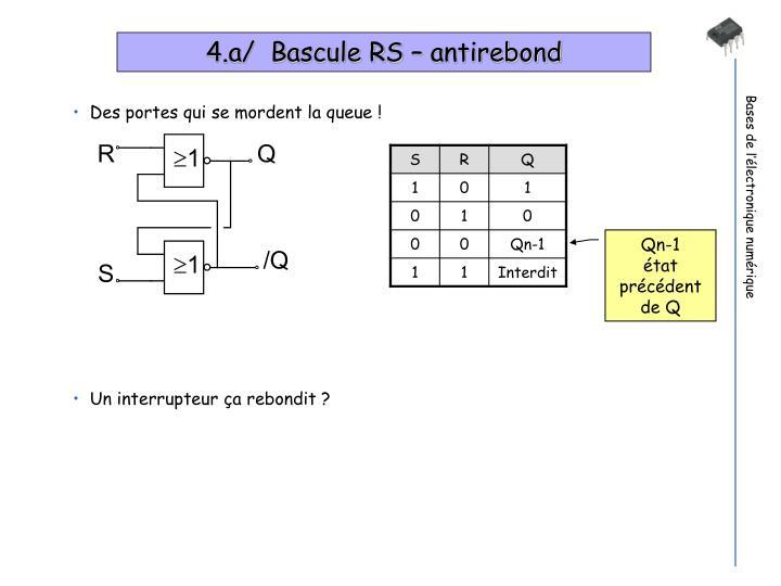 Ppt l lectronique num rique powerpoint presentation for Bascule transistor