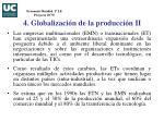 4 globalizaci n de la producci n ii