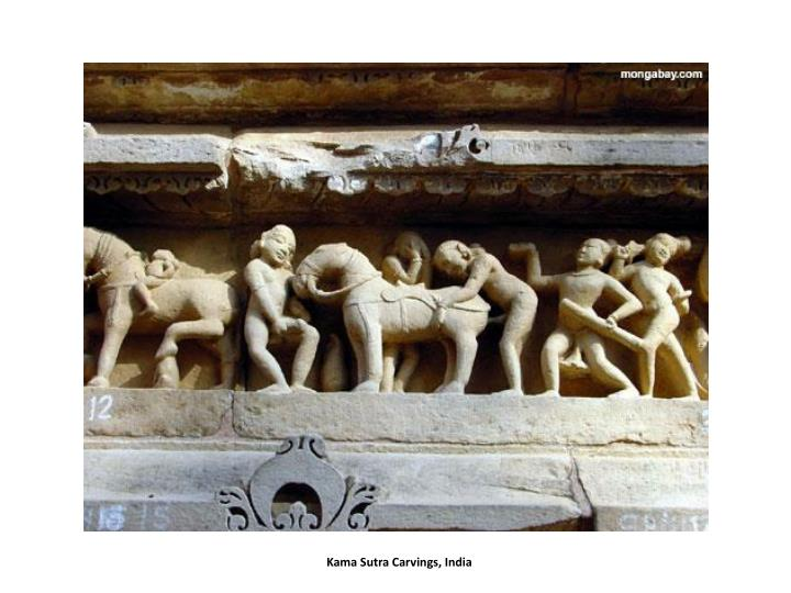 Kama Sutra Carvings, India