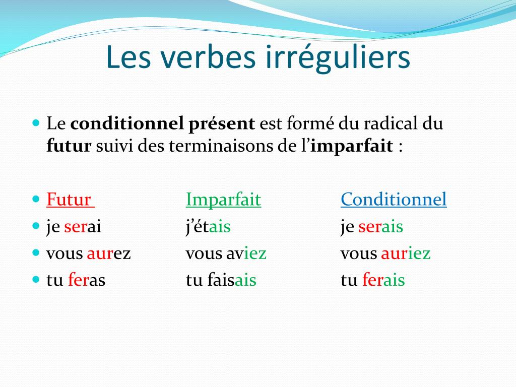 Ppt Le C Onditionnel Present Powerpoint Presentation Free Download Id 3647695