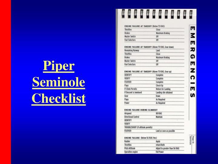 Piper Seminole