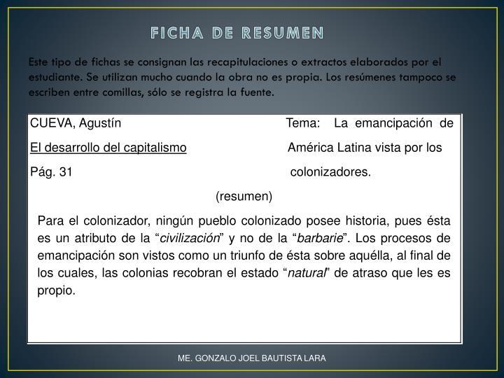 PPT - ACTIVIDAD No. 4 FICHAS DE TRABAJO PowerPoint Presentation - ID ...