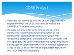 core project