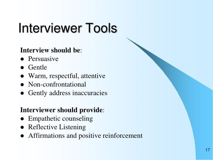 reflection on counselling interview First of all, an interview is a conversation where one or more interviewer asking questions and discussing issues with the interviewee in an attempt for find answers.