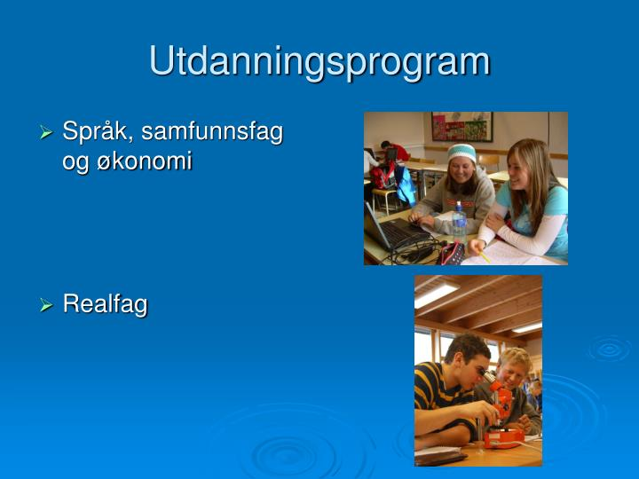 Utdanningsprogram