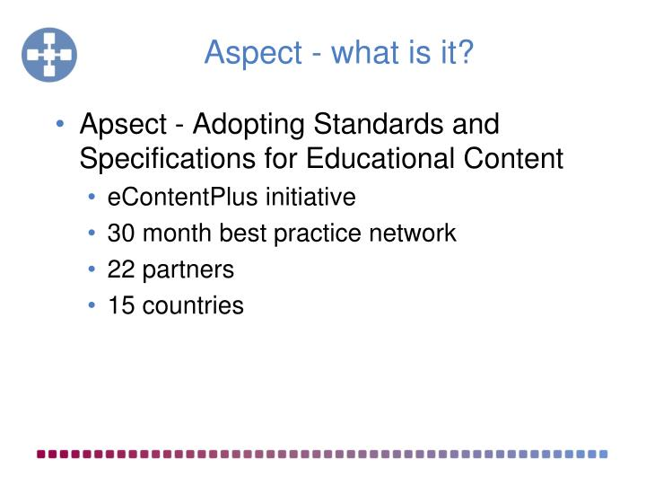 Aspect what is it