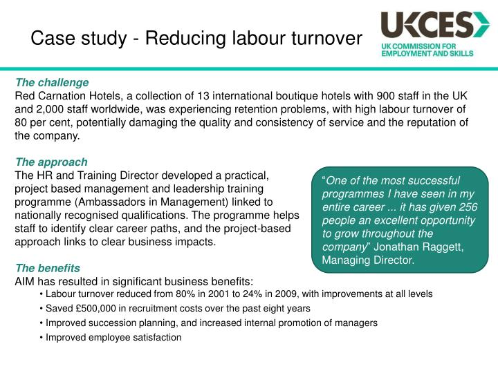 an analysis of the problems of employee turnover and retention in american businesses Factors affecting employee retention a comparative analysis uploaded by introduction employee retention issues are emerging as the most critical workforce management despite the vast literature on employee turnover, which is aimed at identifying factors that cause employees to.