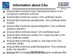 information about cas
