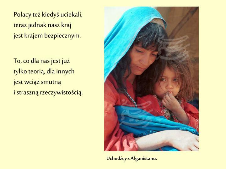 Uchodźcy z Afganistanu.