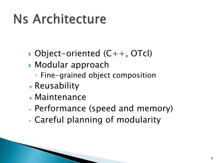 Ns Architecture