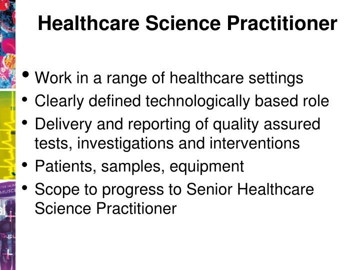 Healthcare Science Practitioner