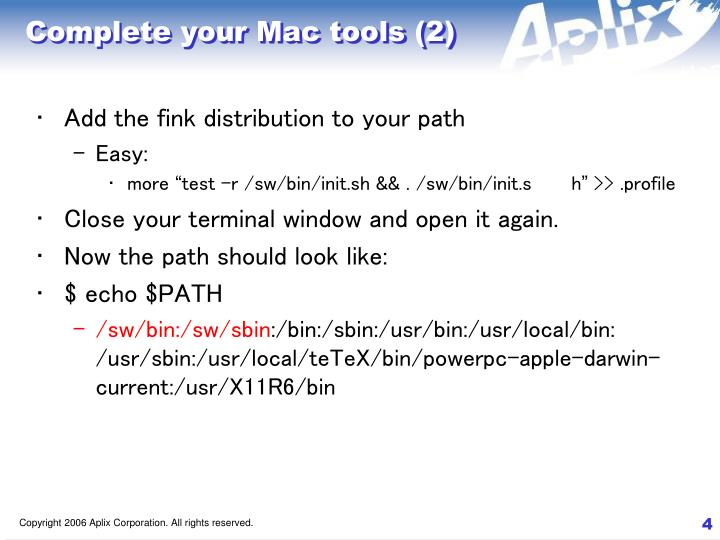 Complete your Mac tools (2)