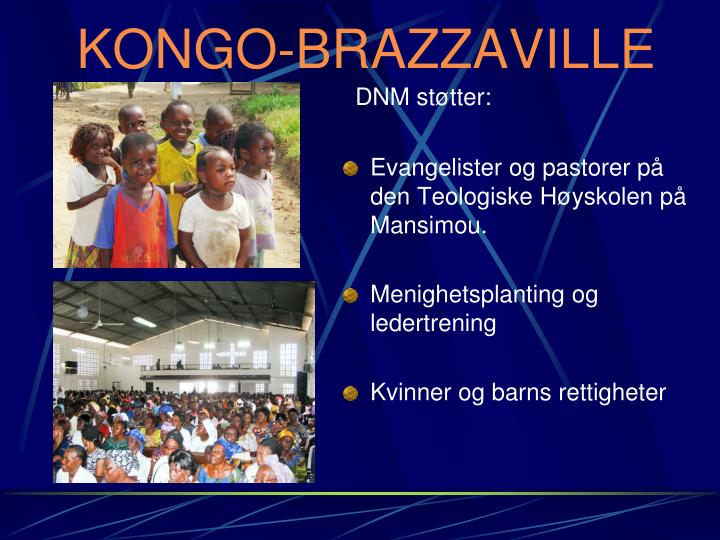 Evangelister og pastorer på den Teologiske Høyskolen på Mansimou.