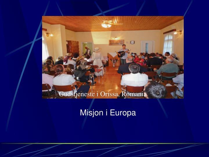 Misjon i Europa