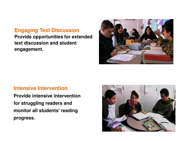 Engaging Text Discussion