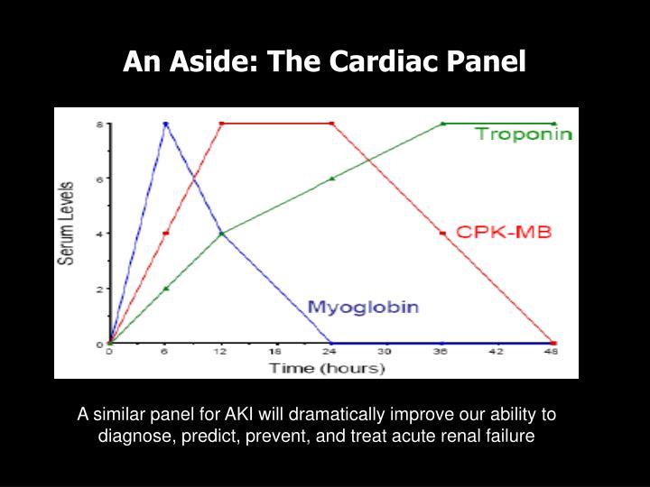 An Aside: The Cardiac Panel