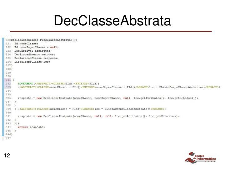DecClasseAbstrata