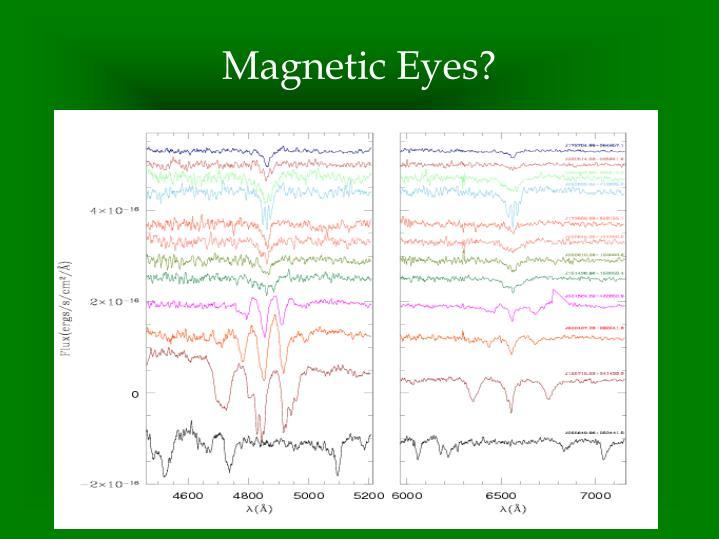 Magnetic Eyes?