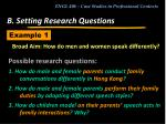 b setting research questions17