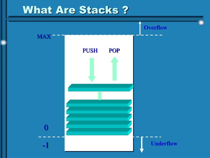 What Are Stacks ?