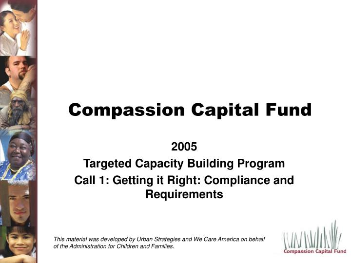 compassion capital fund n.