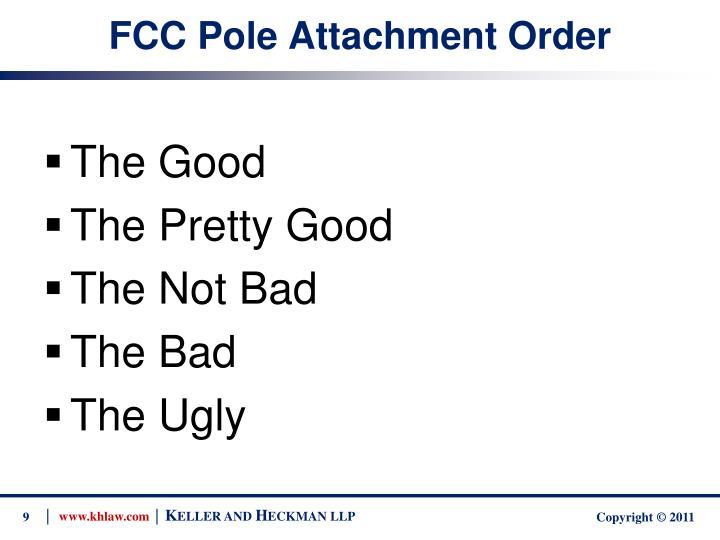 FCC Pole Attachment Order