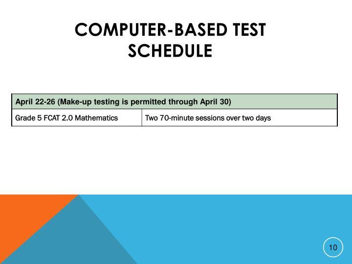 Computer-Based Test