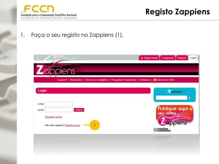 Registo Zappiens