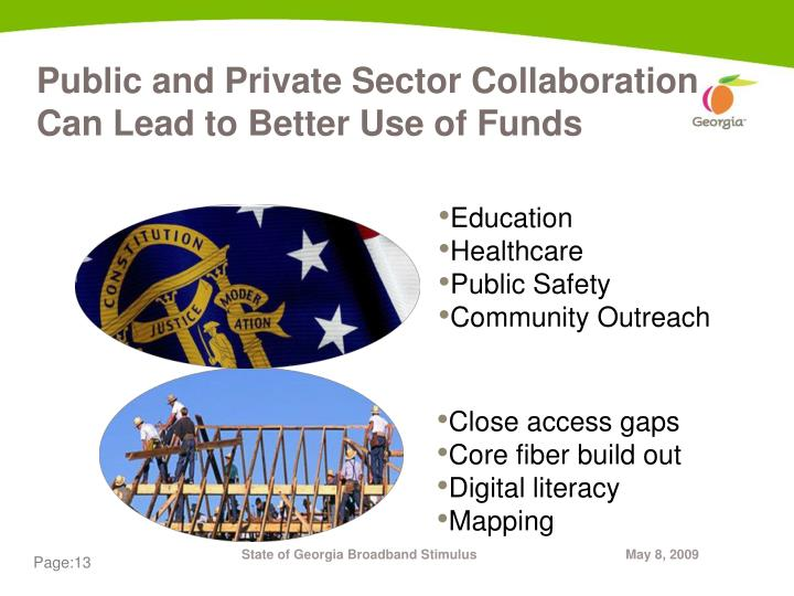 Public and Private Sector Collaboration