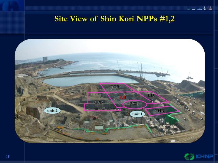 Site View of Shin Kori NPPs #1,2