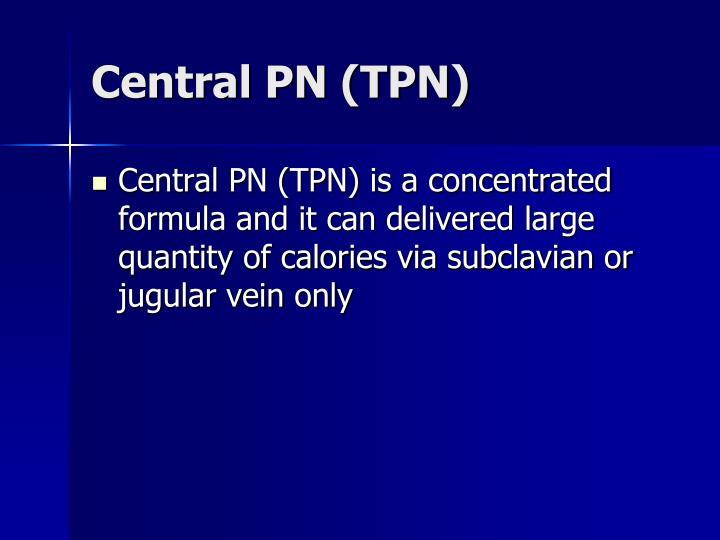 Central PN (TPN)