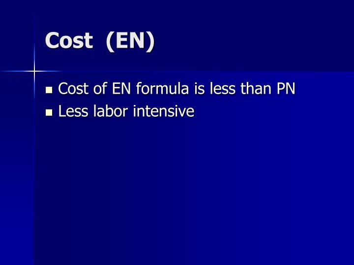 Cost  (EN)