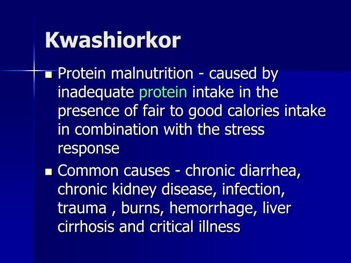 Kwashiorkor