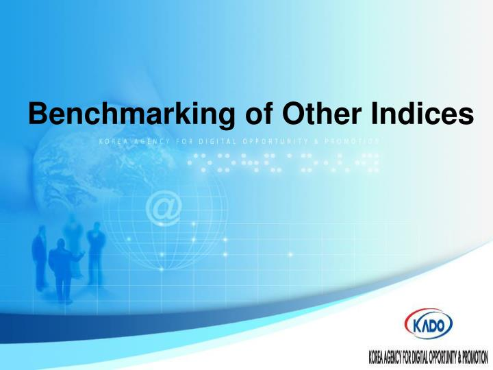 Benchmarking of other indices