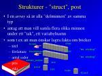 strukturer struct post4