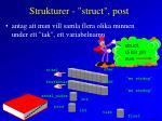 strukturer struct post5