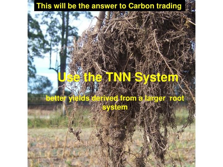 This will be the answer to Carbon trading
