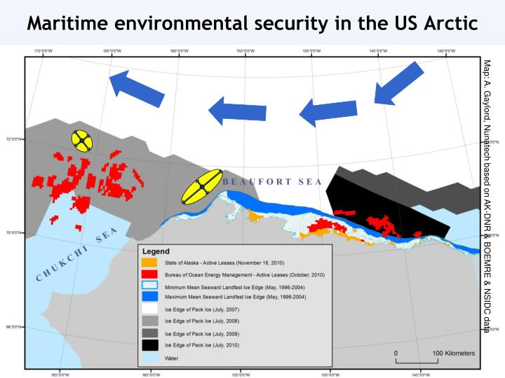 Maritime environmental security in the US Arctic