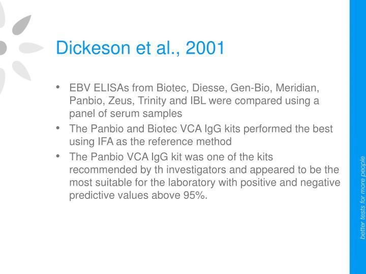 Dickeson et al