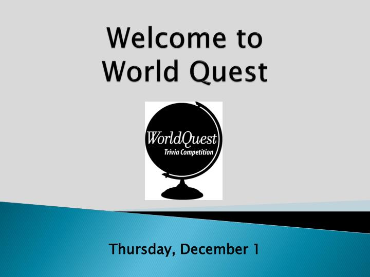 welcome to world quest n.