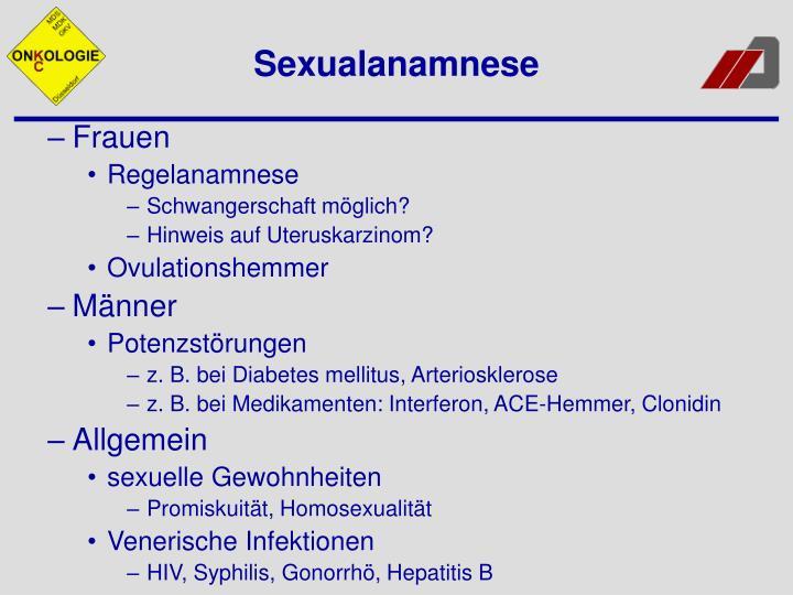 Sexualanamnese