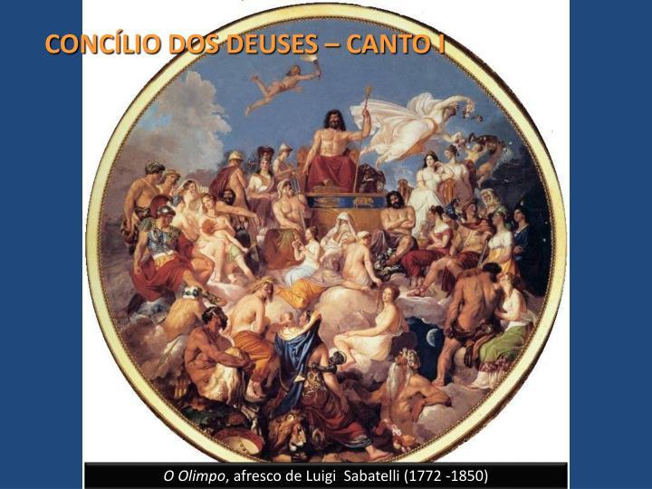CONCÍLIO DOS DEUSES – CANTO I