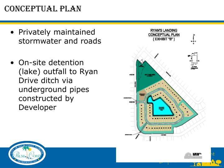 Conceptual plan