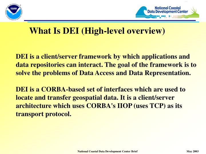 What Is DEI (High-level overview)