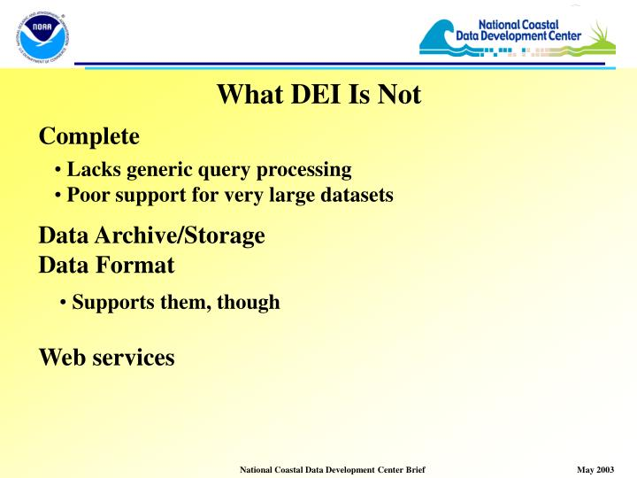 What DEI Is Not