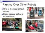 passing over other robots