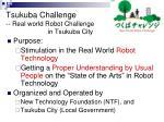 tsukuba challenge real world robot challenge in tsukuba city