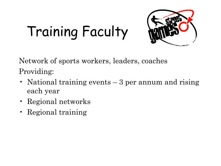 Training Faculty