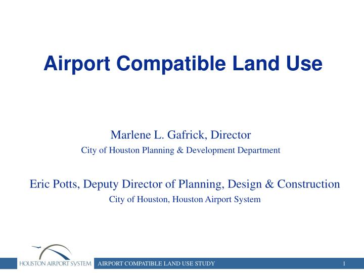 airport compatible land use n.