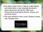 alternative theatre groups1